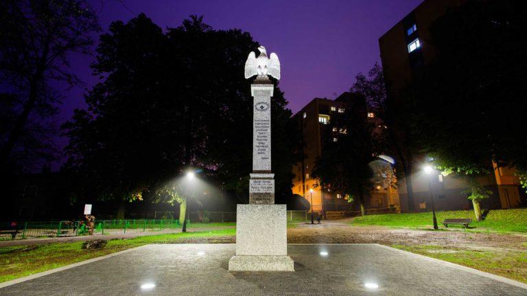 Nowy pomnik powstańców w Parku Zarzeckiego