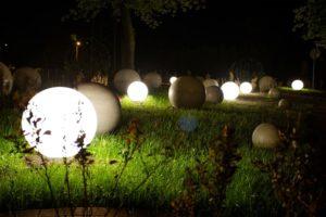 Kule świecące w Radlinie
