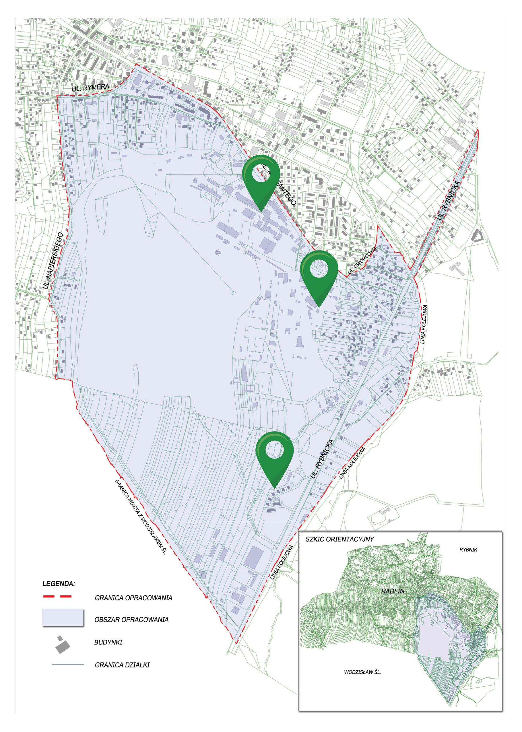 projekt miejscowego planu zagospodarowania przestrzennego