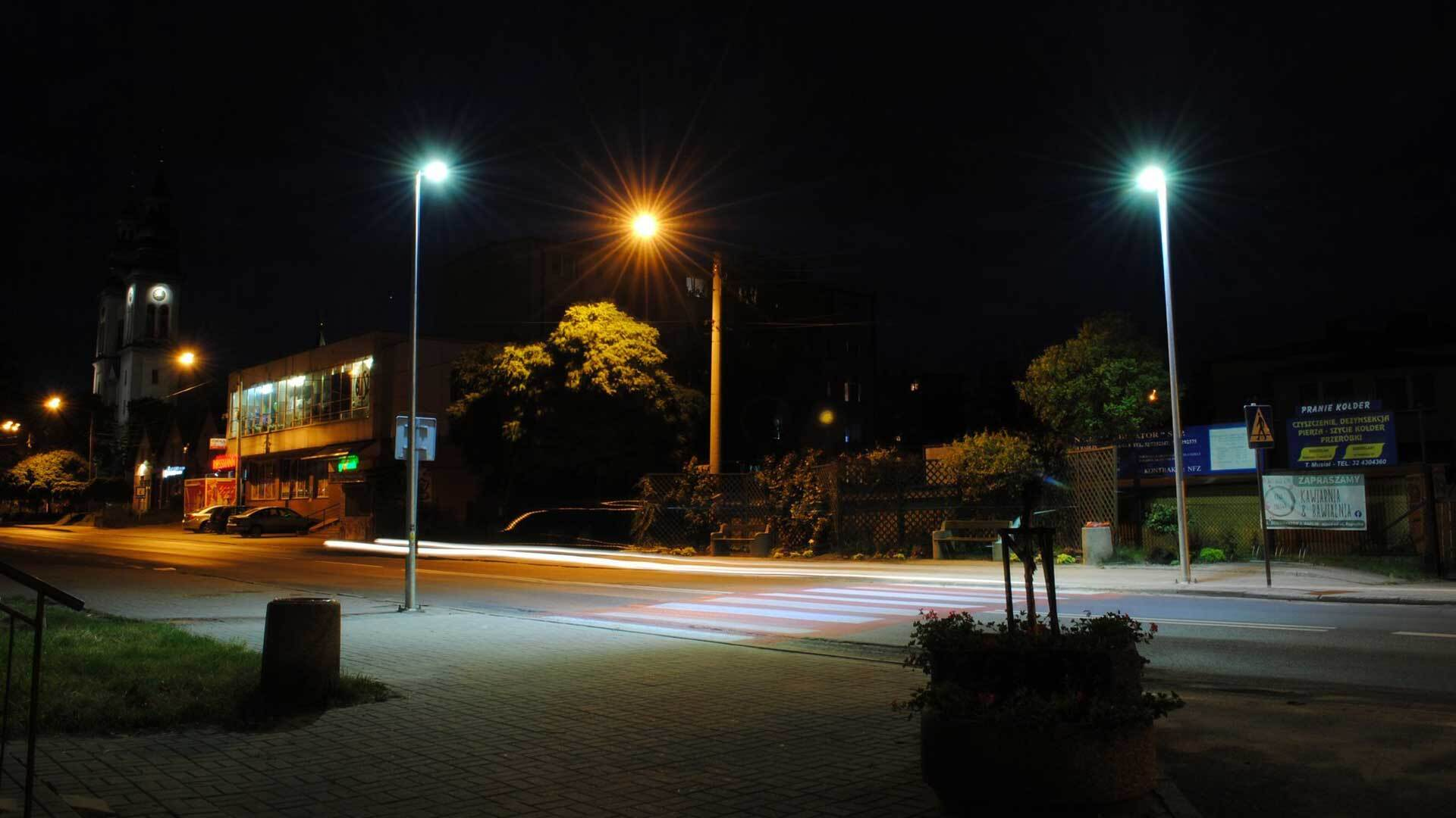 Nowe oświetlenie w centrum!