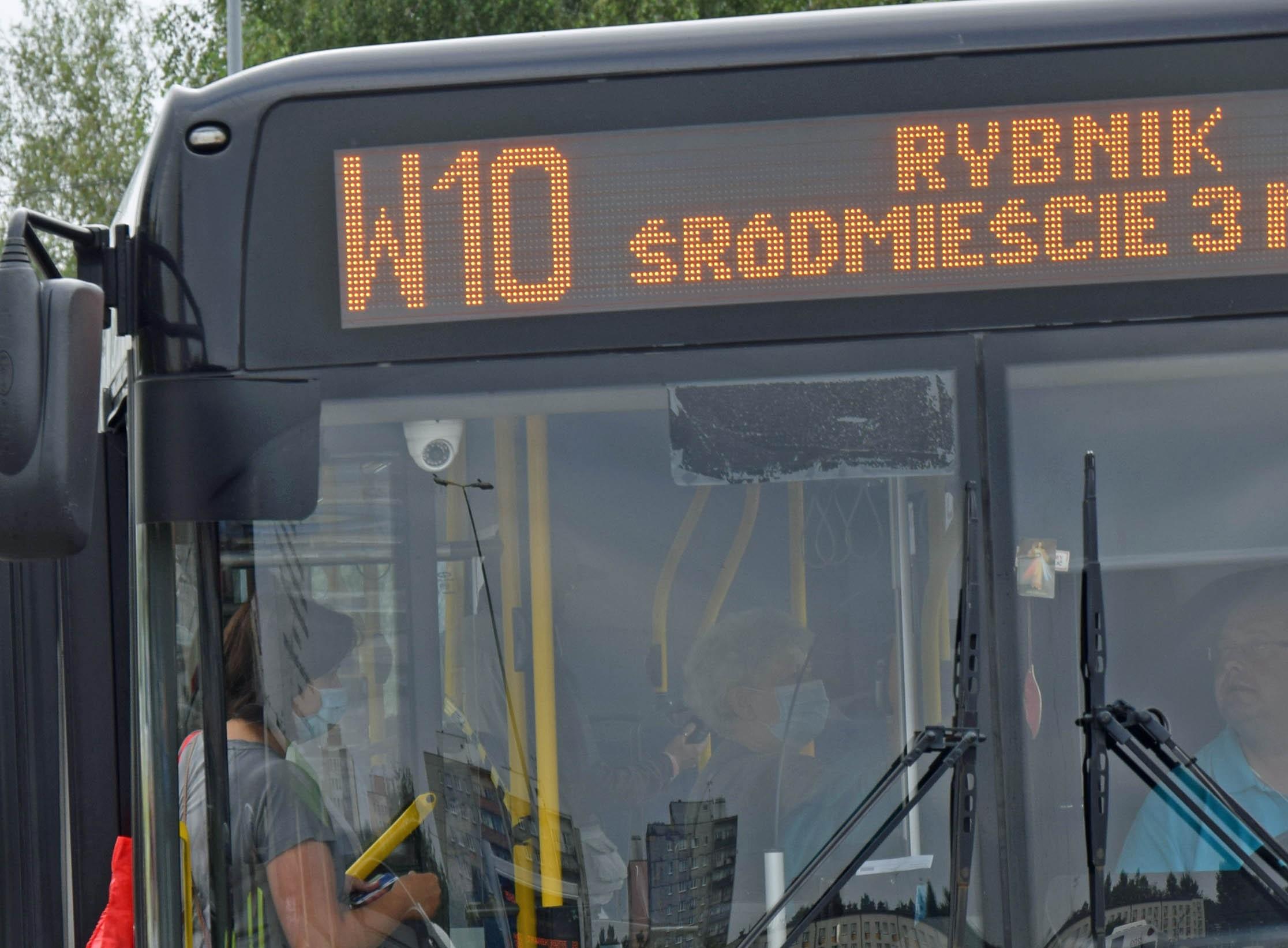 Dodatkowe kursy W10 (Jastrzębie-Rybnik)