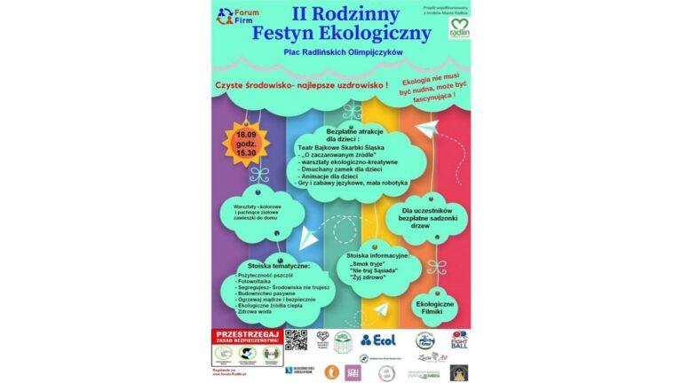 Festyn Ekologiczny już 18 września