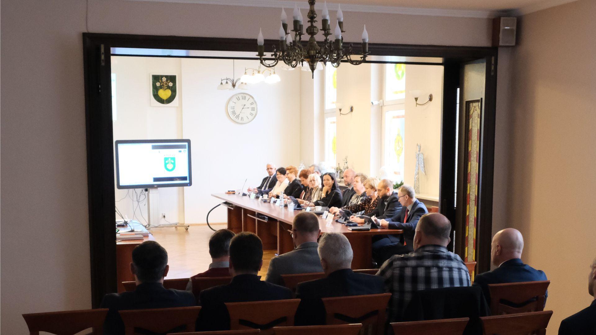 Porządki posiedzeń Rady Miejskiej – luty 2021