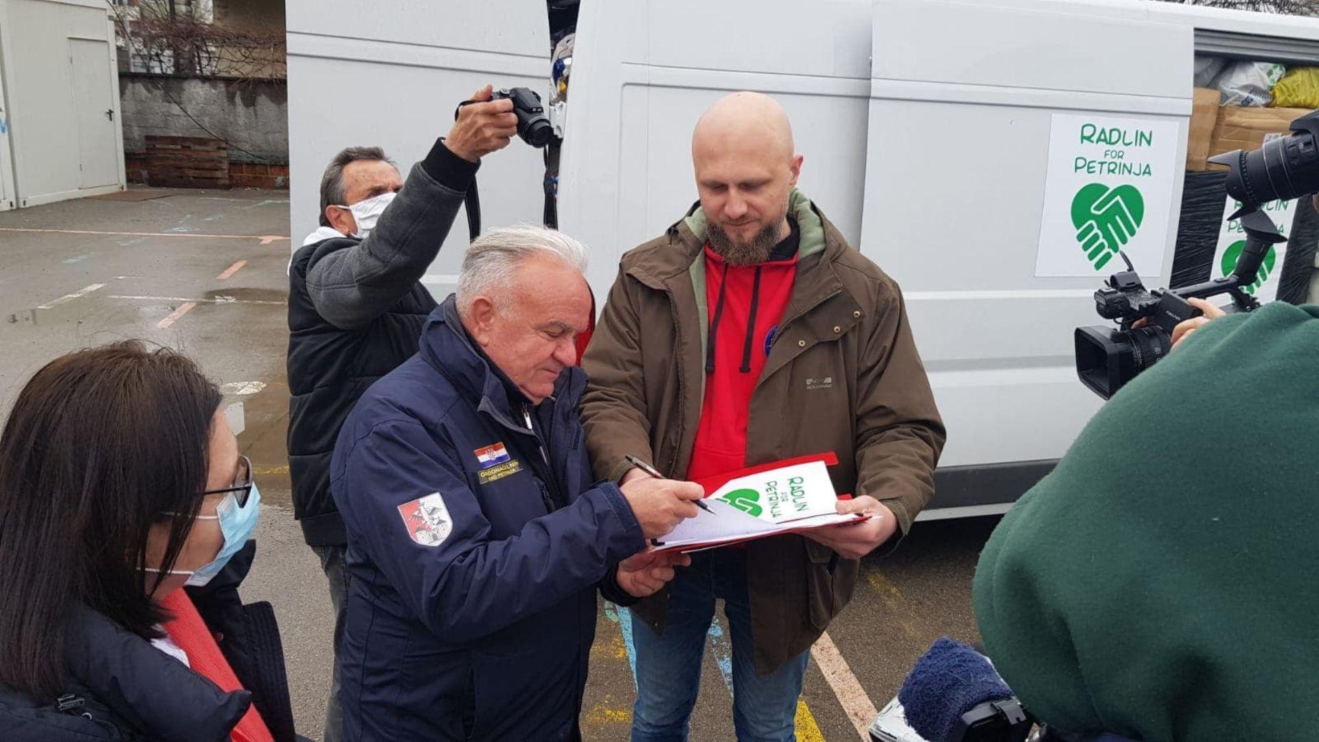 Pomoc z Radlina dotarła do Chorwacji (aktualizacja)