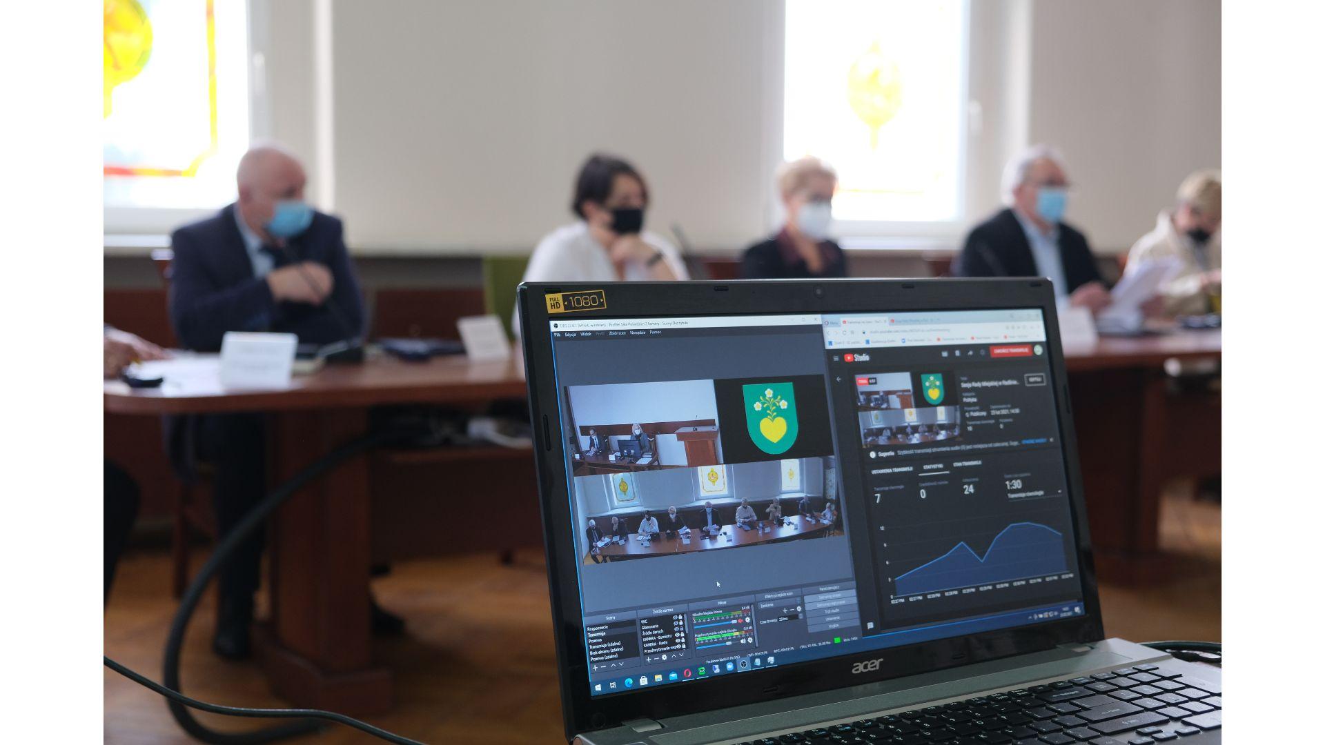 Terminy posiedzeń Rady Miejskiej w Radlinie – październik 2021