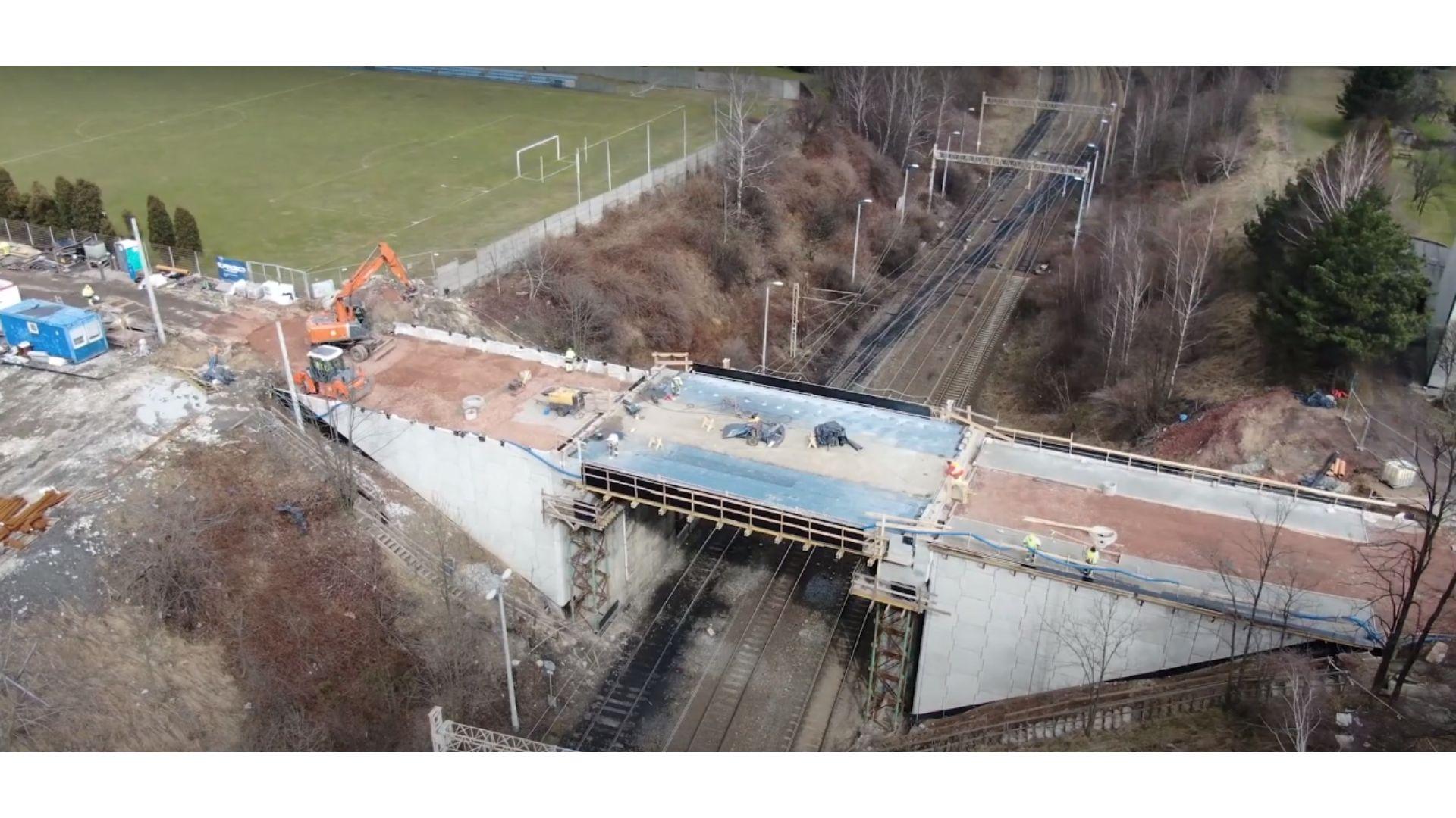 Jak wyglądają postępy prac na wiadukcie?