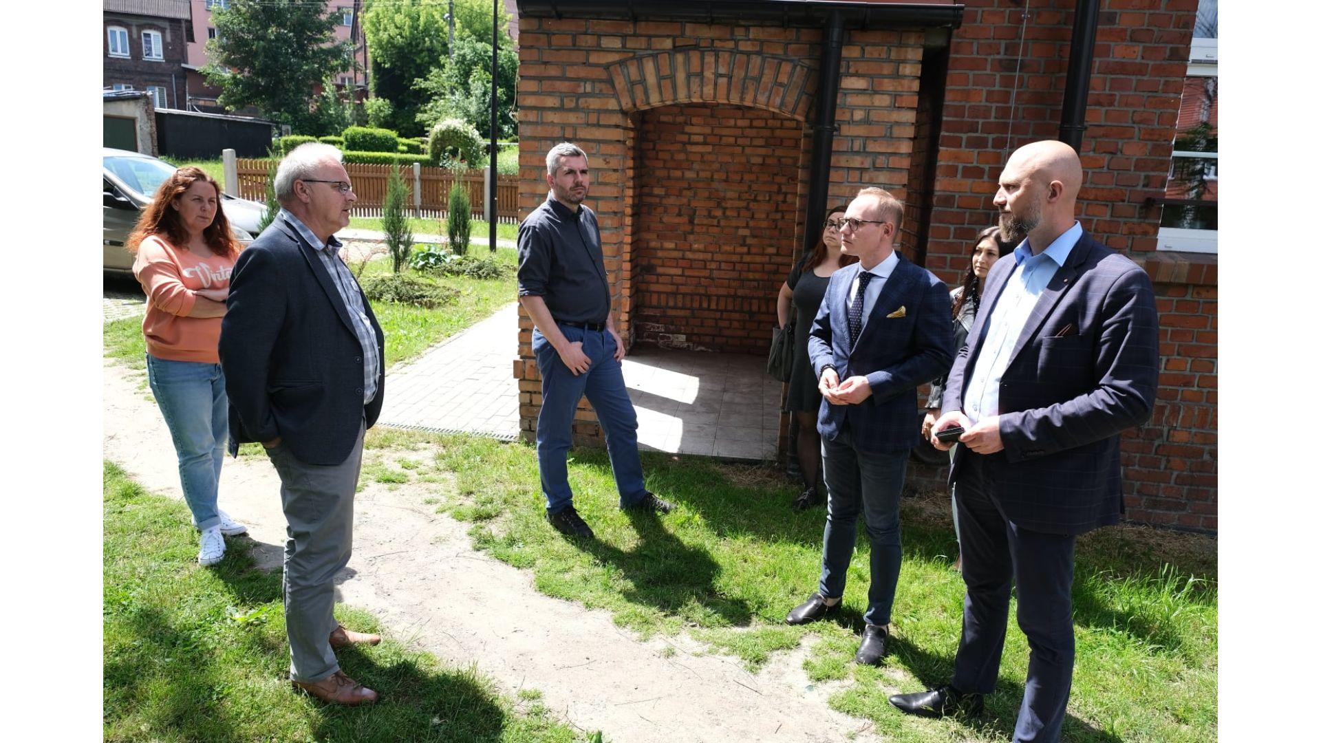Wizyta posłów M. Kopca i M. Koniecznego w Radlinie
