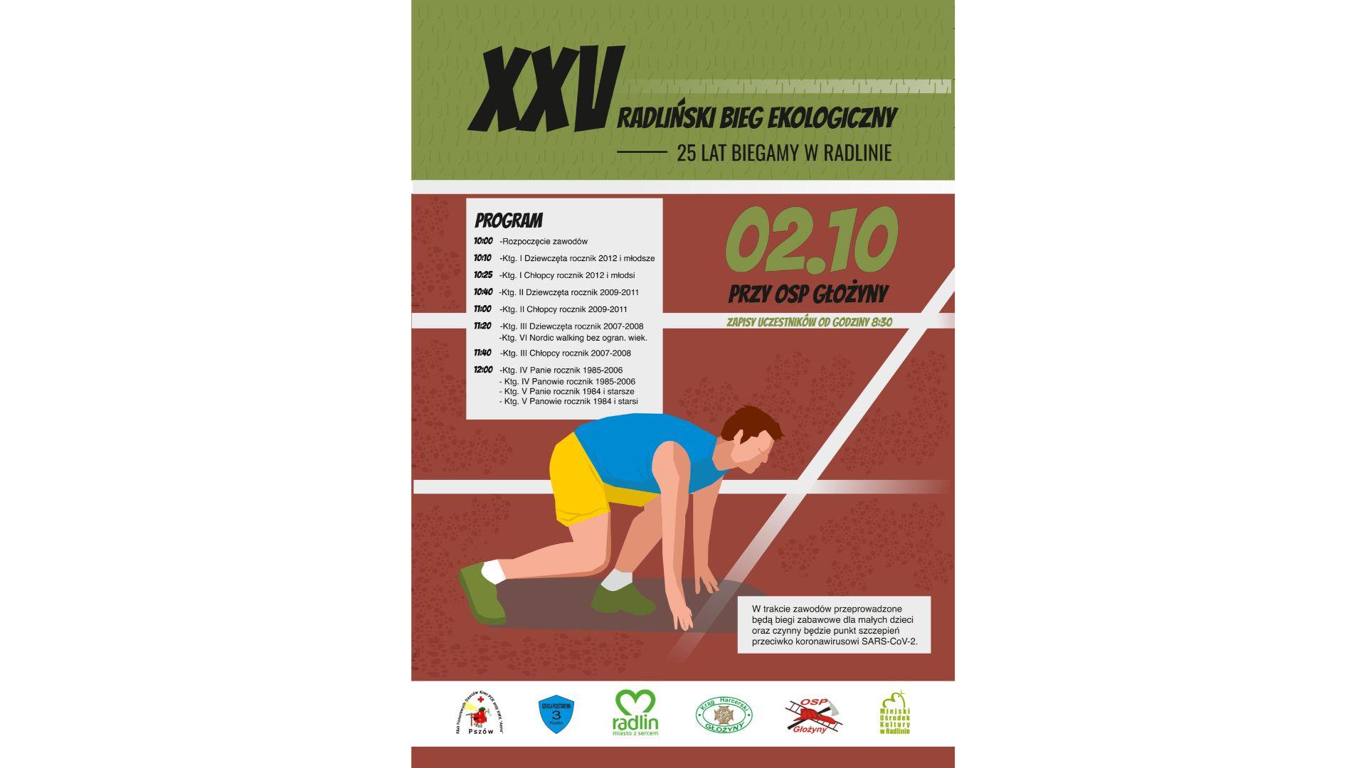 XXV Bieg Ekologiczny w Radlinie